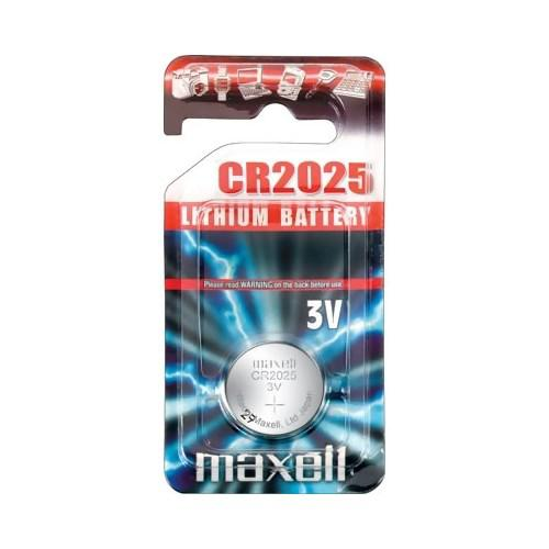 MAXELL Lithium Knappcell 3V Batteri CR2025