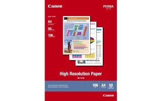 CANON A4 Högupplöst Fotopapper (HR-101N) 106 gram