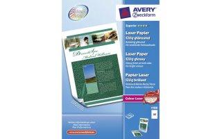AVERY A4 Fotopapper Färglaser 120 gram