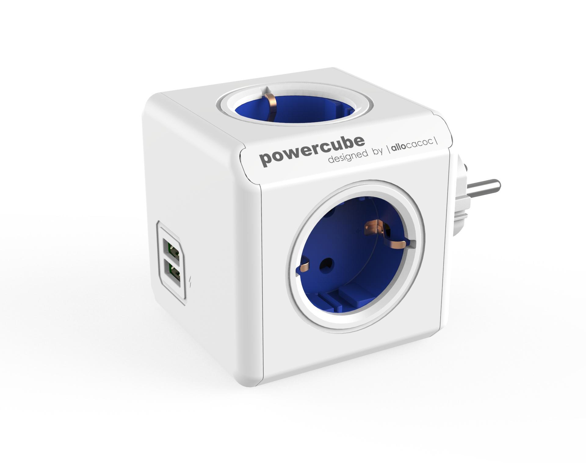 POWERCUBE Original USB Blå