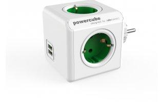 POWERCUBE Original USB Grön