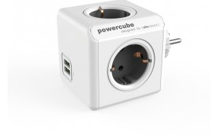 POWERCUBE Original USB Grå
