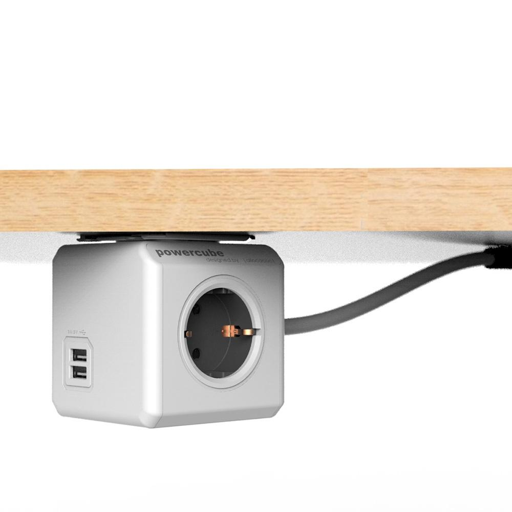 POWERCUBE Extended 1,5m USB Blå