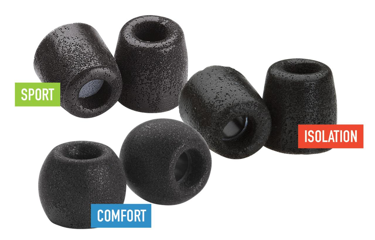 COMPLY Variety Pack Hörlurspropp 500 Small (3 Par)
