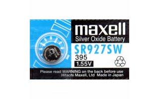 MAXELL Klockbatteri Silveroxid 395/SR927SW