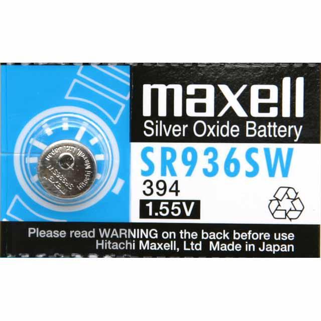 MAXELL Klockbatteri Silveroxid 394/SR936SW