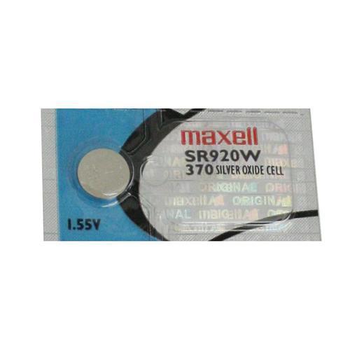 MAXELL Klockbatteri Silveroxid 370/SR920W
