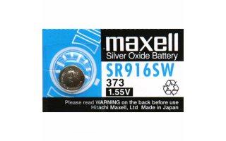 MAXELL Klockbatteri Silveroxid 373/SR916SW