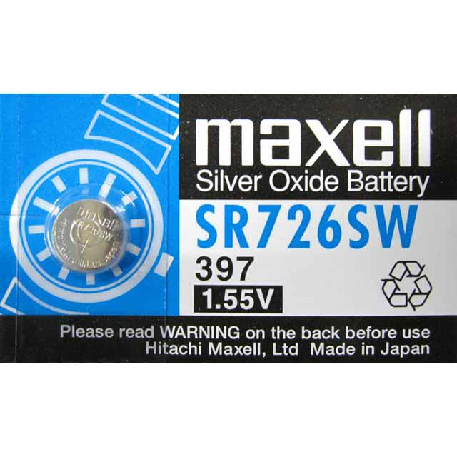 MAXELL Klockbatteri Silveroxid 397/SR726SW