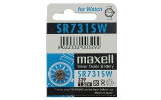 MAXELL Klockbatteri Silveroxid 329/SR731SW