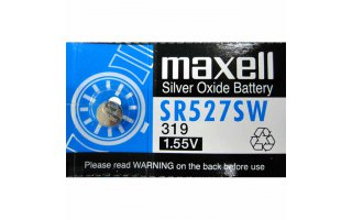 MAXELL Klockbatteri Silveroxid 364/SR621SW