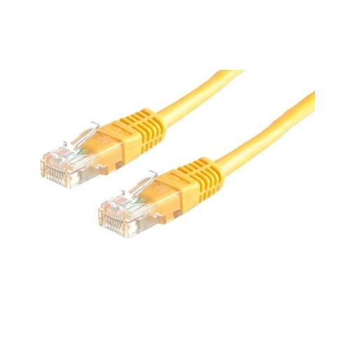 VALUE S/FTP (PiMF) Nätverkskabel LSOHCat.6 Gul 5.0m