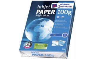AVERY A4 Ljusvitt Fotopapper 100 gram