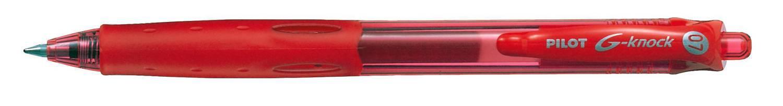 PILOT Kulspetspenna G-Knock Begreen Röd