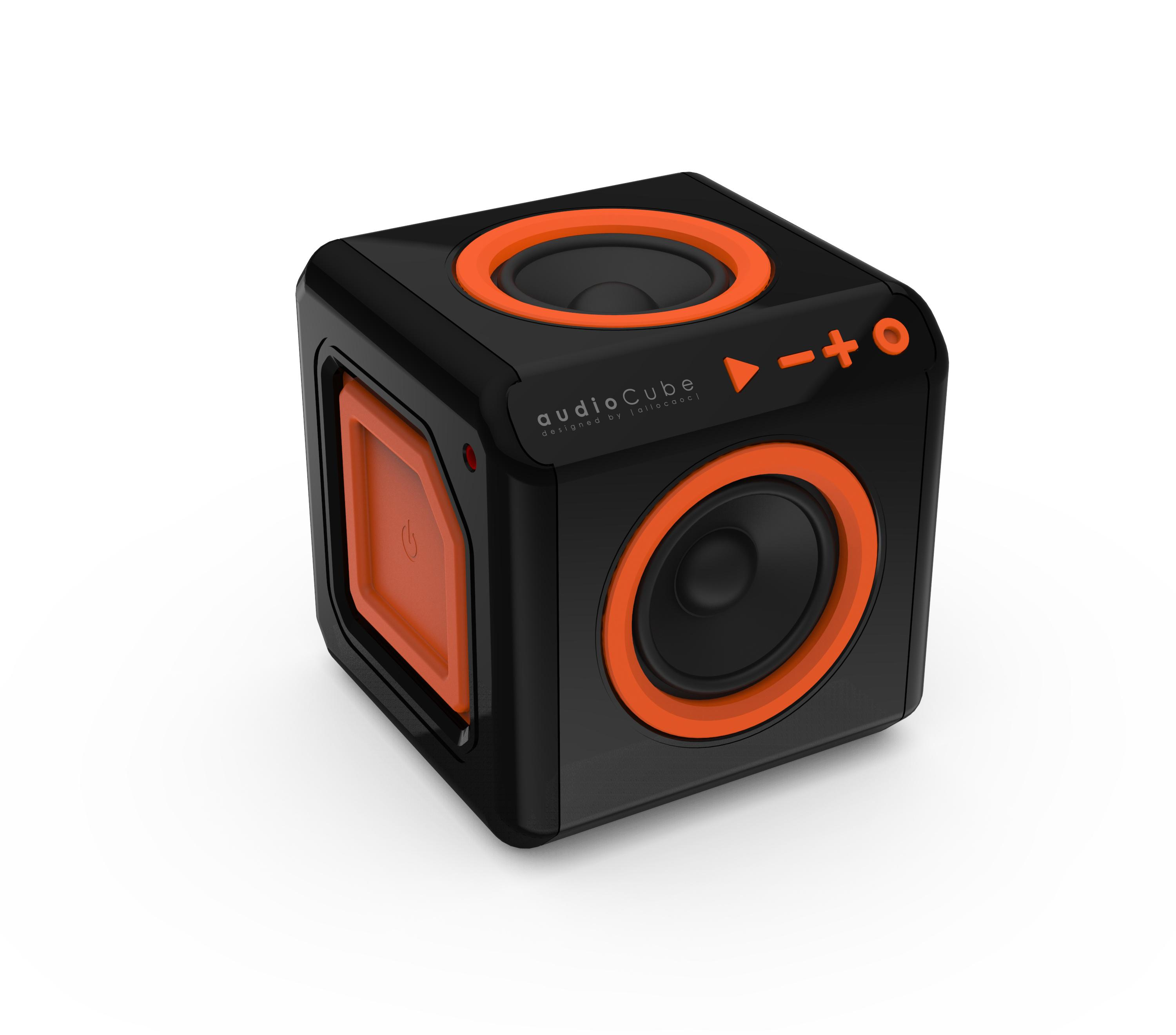 POWERCUBE AUDIO CUBE Bluetooth-högtalare