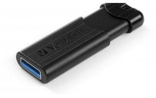 VERBATIM PinStripe USB 3.0-enhet 32 GB
