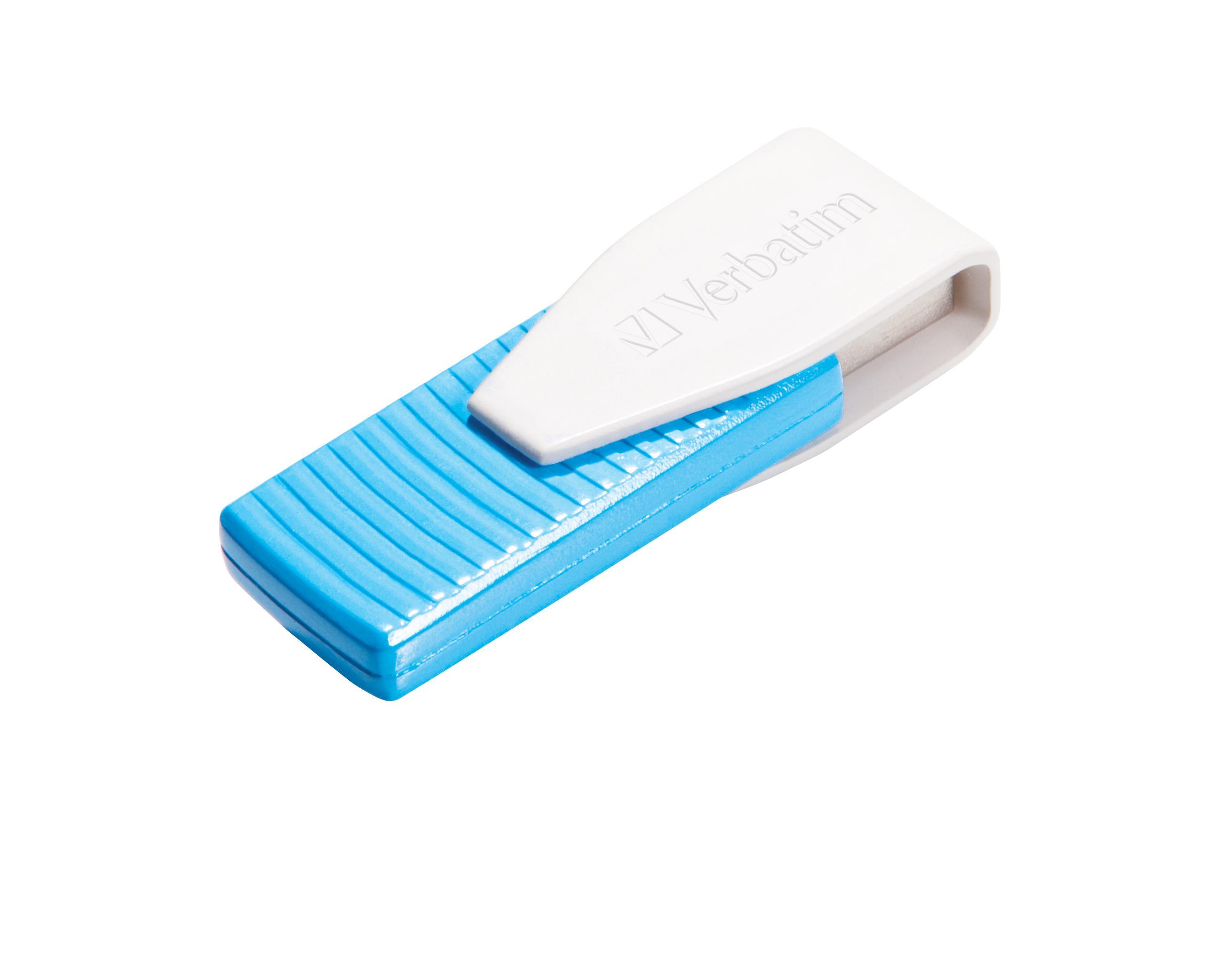 VERBATIM Swivel USB Drive 8 GB Blå