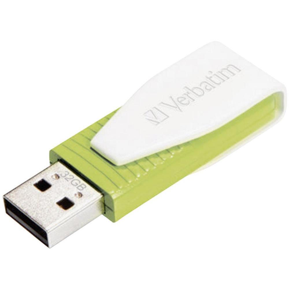 VERBATIM Swivel USB Drive 32 GB Röd