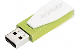 VERBATIM Swivel USB Drive 32 GB Röd