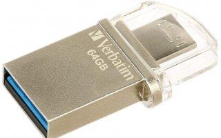 VERBATIM OTG USB 3.0-mikrominne 64 GB