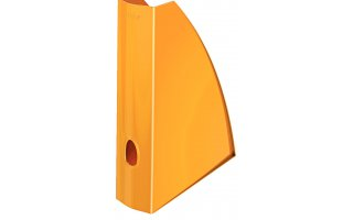 LEITZ Tidskriftssamlare Plus WOW Orange metallic