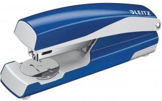 LEITZ Häftapparat 5502 WOW, 30 ark Blå Metallic