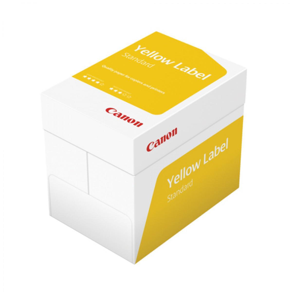 Skrivarpapper A4 ohålat kopieringspapper Canon Yellow Label