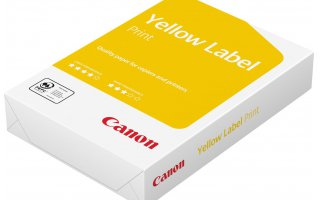 CANON A4 Yellow Label Ohålat Kopieringspapper