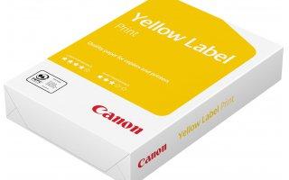 CANON A4 Yellow Label Ohålat Kopieringspapper