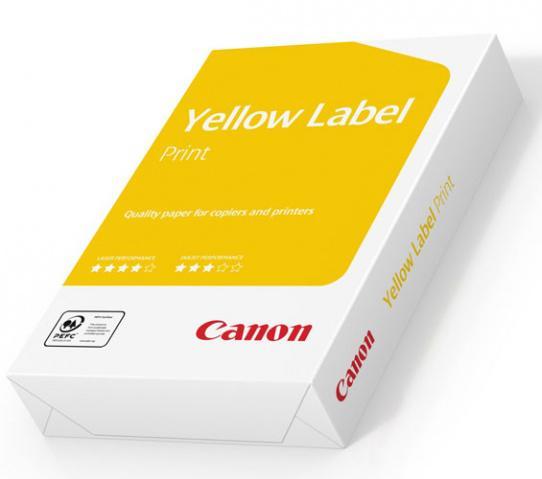 Skrivarpapper A3 ohålat kopieringspapper Canon Yellow Label