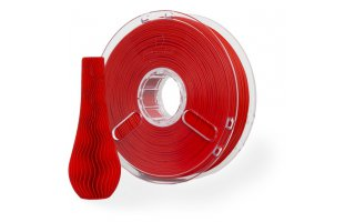 POLYMAKER PolyPlus PLA Filament Klar Färg Röd 1,75 mm/750g