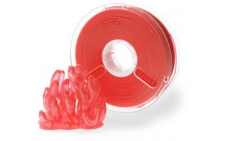 POLYMAKER PolyPlus PLA Transparent Röd 1,75 mm/750g