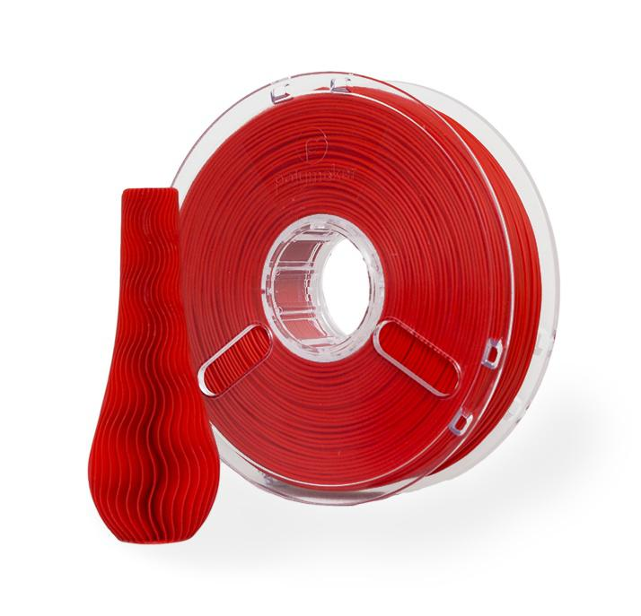 POLYMAKER PolyPlus PLA Filament Klar Färg Röd 2,85 mm/750g