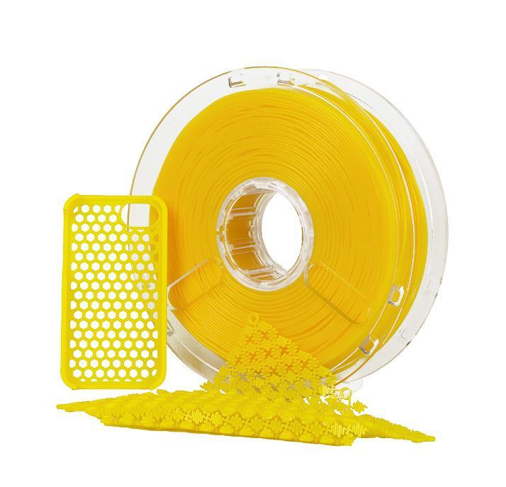 POLYMAKER PolyFlex Filament Gul 2,85 mm/750g