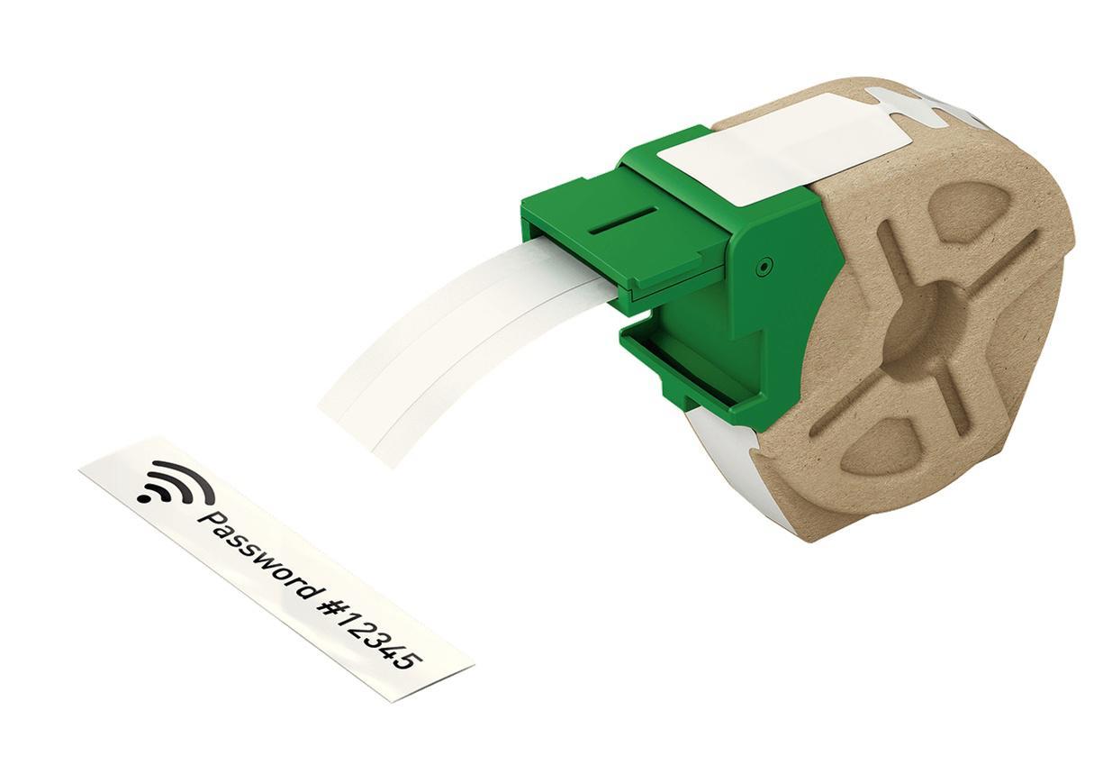 LEITZ Icon Etikettkassett (plast) 12mm x 10m Vit