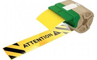 LEITZ Icon Etikettkassett (plast) 88mm x 10m Gul