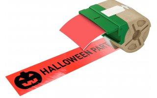 LEITZ Icon Etikettkassett (plast) 88mm x 10m Röd