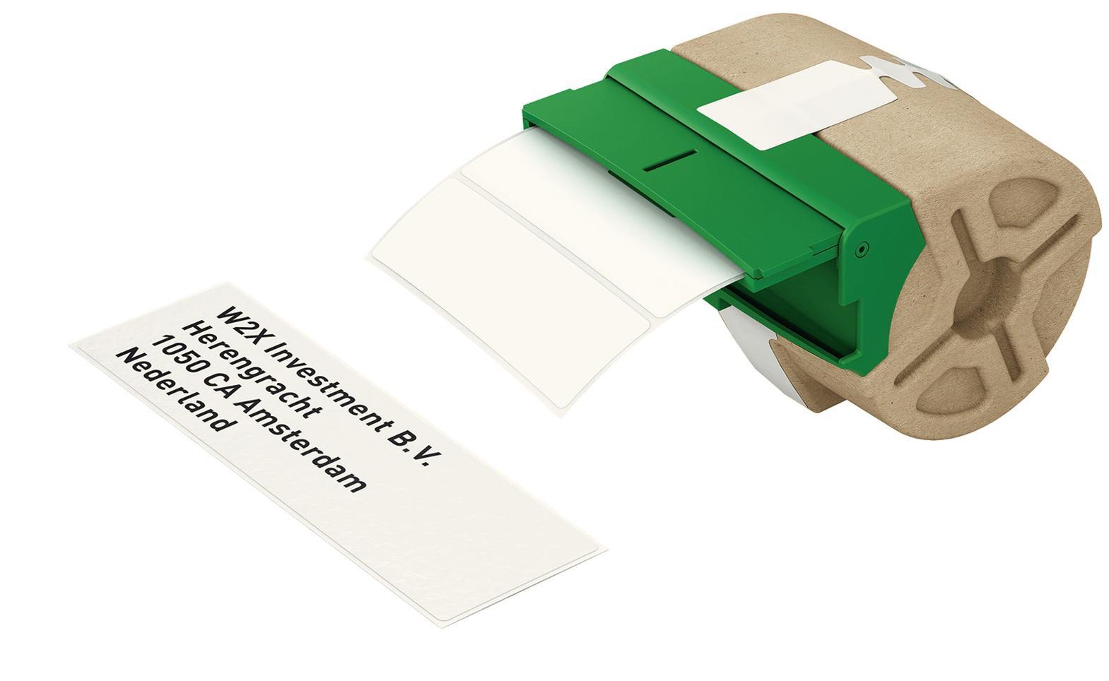 LEITZ Icon Etikettkassett med utstansade etiketter 28 x 88mm 690 st
