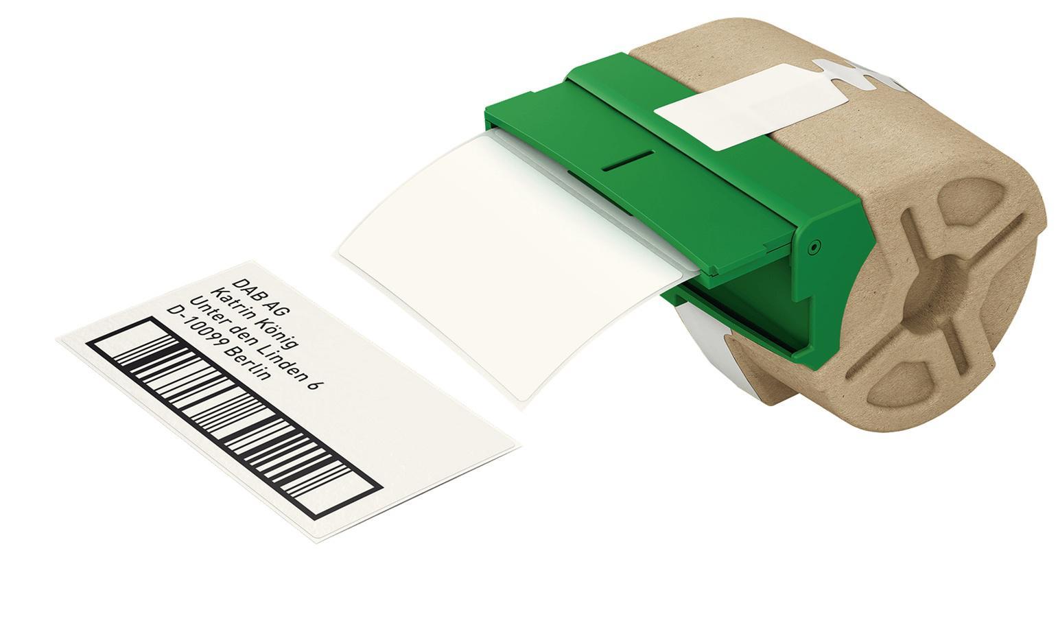 LEITZ Icon Etikettkassett med utstansade etiketter 50 x 88mm 435 st