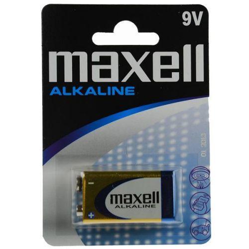 MAXELL Alkaline 9V Batteri 6LR61