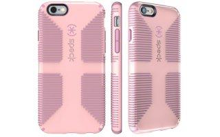 SPECK CandyShell Grip Mobilskal Rosa/Ljusrosa