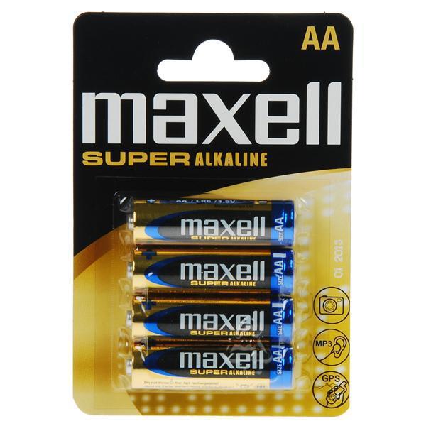 MAXELL Super Alkaline 1,5V Batteri LR06/AA