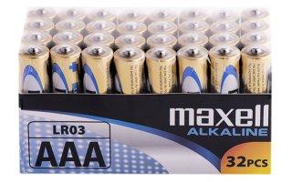 MAXELL Alkaline 1,5V Batteri LR03/AAA