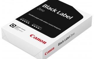 CANON A4 Black Label Hålat Kopieringspapper