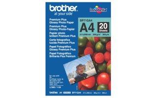 BROTHER A4 Premuim Glättat fotopapper 260 gram