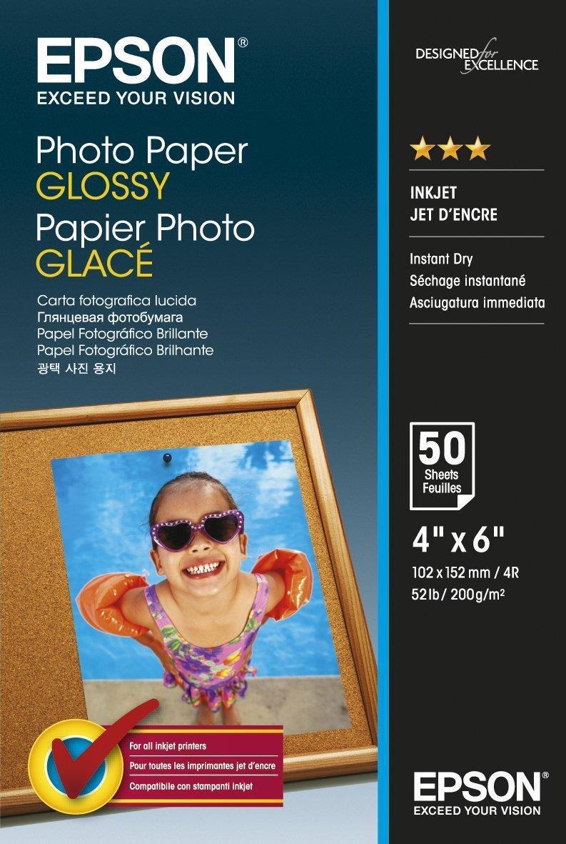 EPSON 10x15 Glättat Fotopapper 200 gram