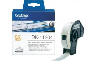 BROTHER DK-11204 Universaletiketter 17 x 54mm
