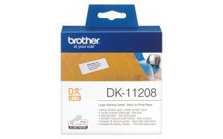 BROTHER DK-11208 Stora adressetiketter 38x 90mm