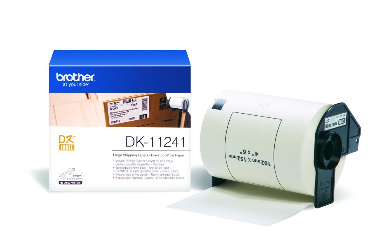 BROTHER DK-11241 Stora fraktetiketter 102 x 152mm