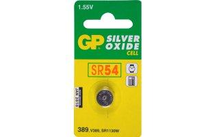 GP Klockbatteri Silveroxid 370/SR54